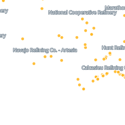 Map: Oil Refineries in the United States | Earthjustice